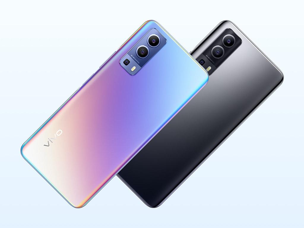 Vivo Y72 5G in zwei Farben