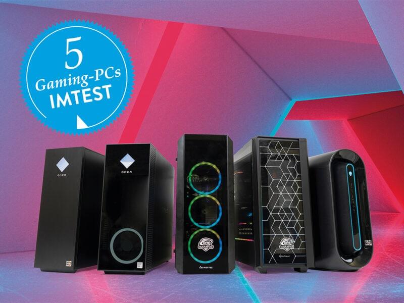 5 Gaming-PCs im Test