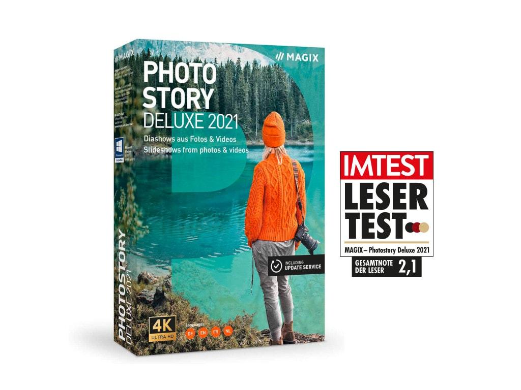 Magix Photostory Deluxe im Lesertest