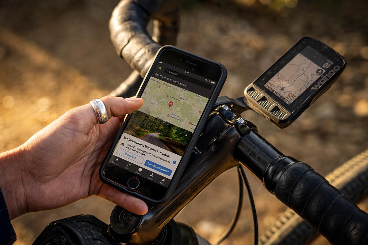 Das Smartphone als Navi fürs Fahrrad