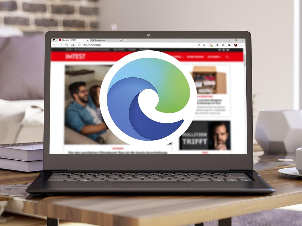 Edge-Logo auf PC