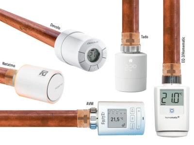 Smarte Heizungsthermostate zum Kosten sparen: Der Test