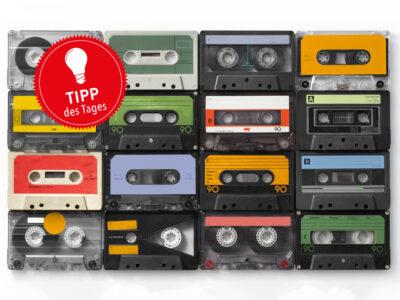 Alter Kassettenrekorder leiert? So können Sie sich helfen