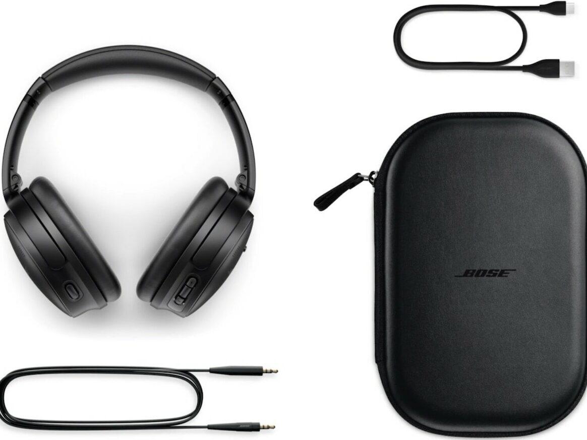 Ein Kopfhörer von Bose.