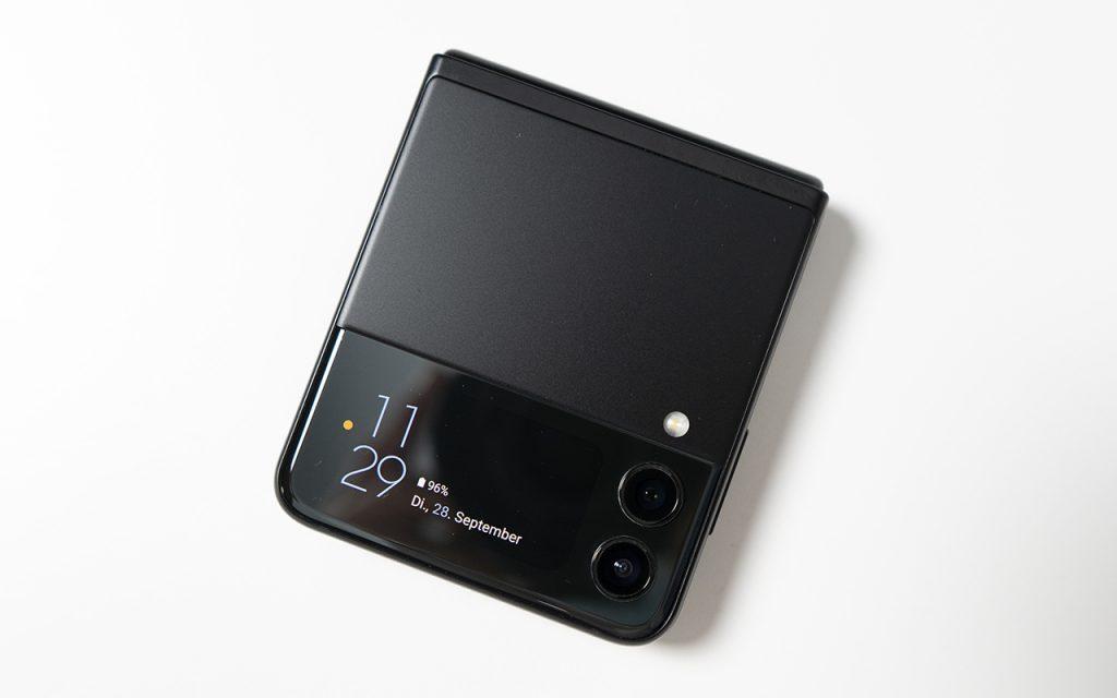 Samsung Galaxy Z Flip3 zusammengeklappt