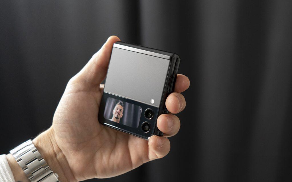 Samsung Galaxy Z Flip3 Außendisplay