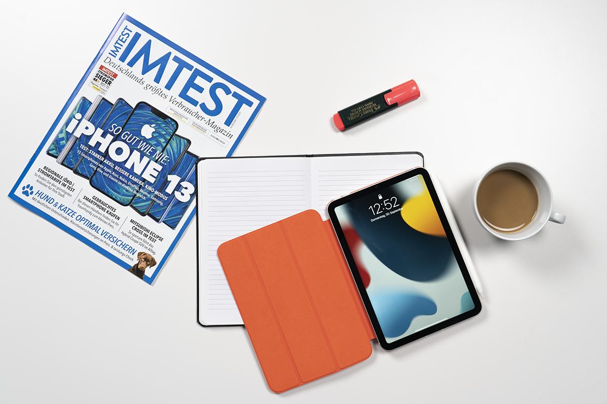 iPad mini 2021 auf einem Schreibtisch