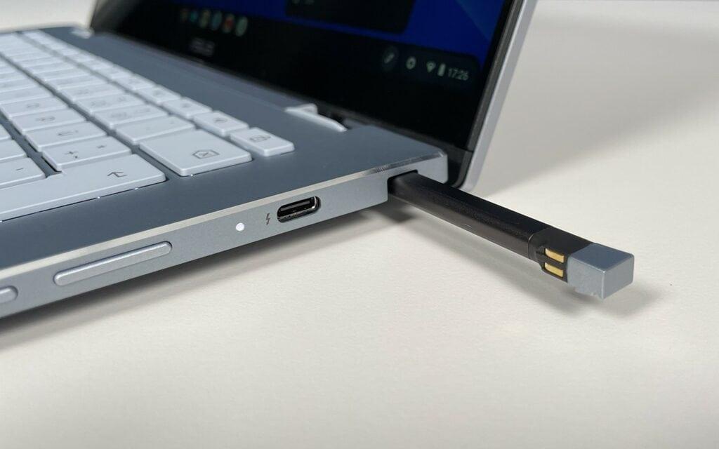Asus Chromebook Flip XC5 Stift Fach