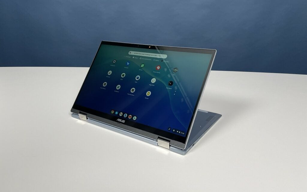 Asus Chromebook Flip XC5 Tabletmodus