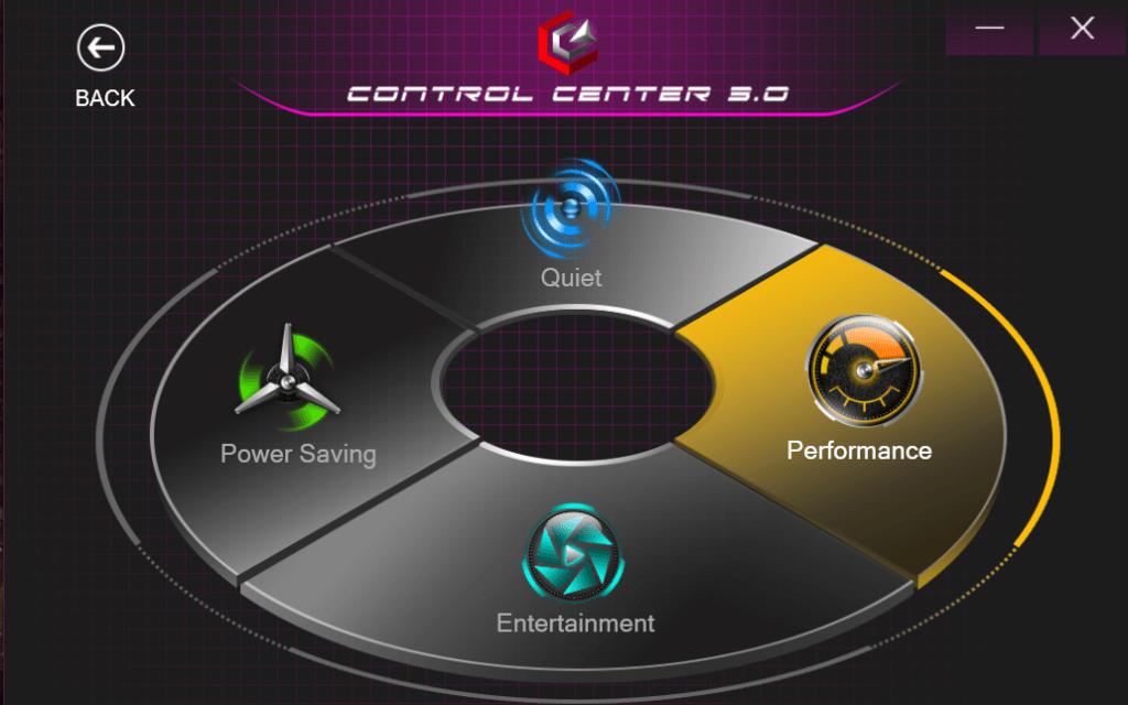 Screenshot Kreisdiagramm mit vier Abschnitten auf schwarzem Hintergrund