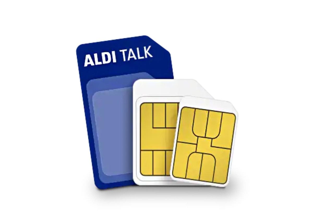 Ein Symbolbild für Aldi-Talk.