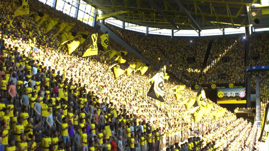 Screenshot BVB Fankurve