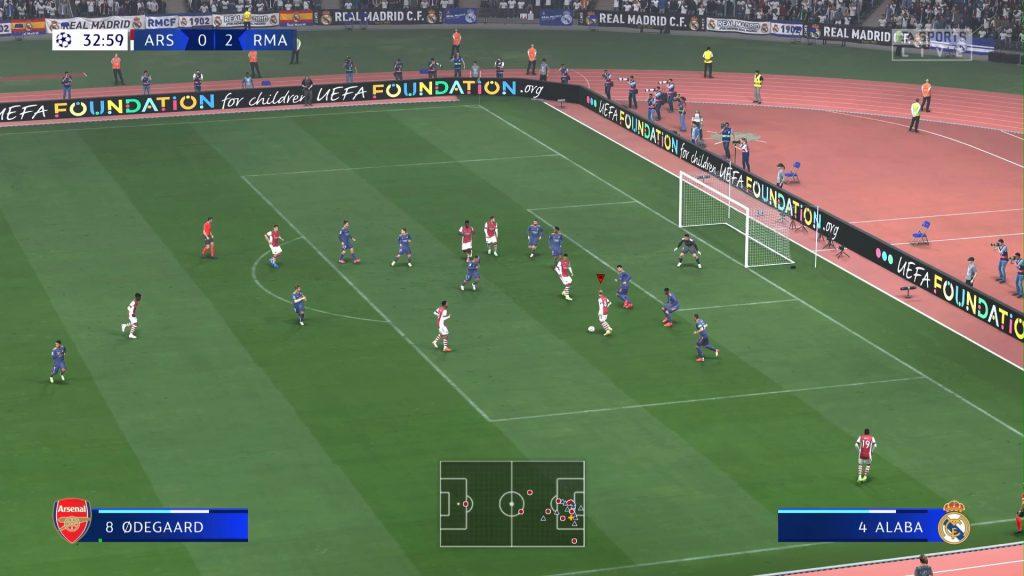 Screenshot Spielfeld mit spielenden Spielern