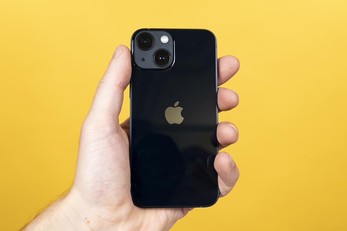 iPhone 13 Mini in Schwarz
