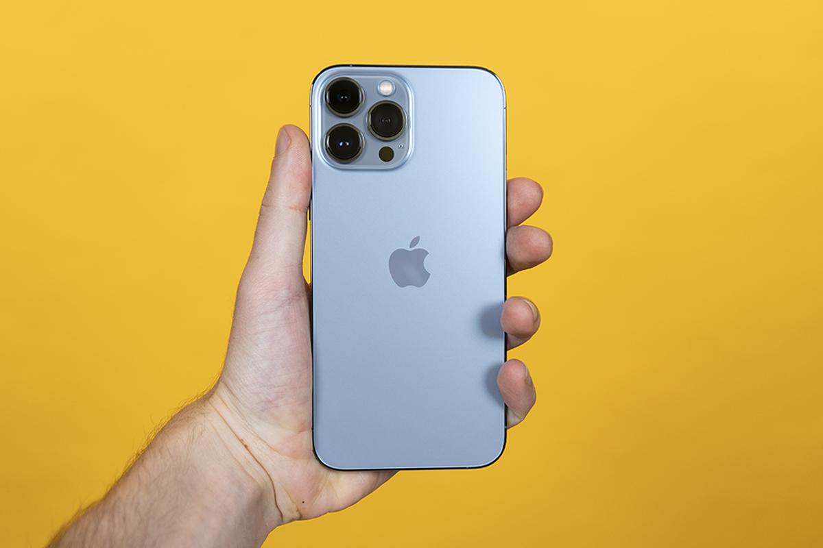 Neue blaue Farbe beim iPhone 13 Pro Max