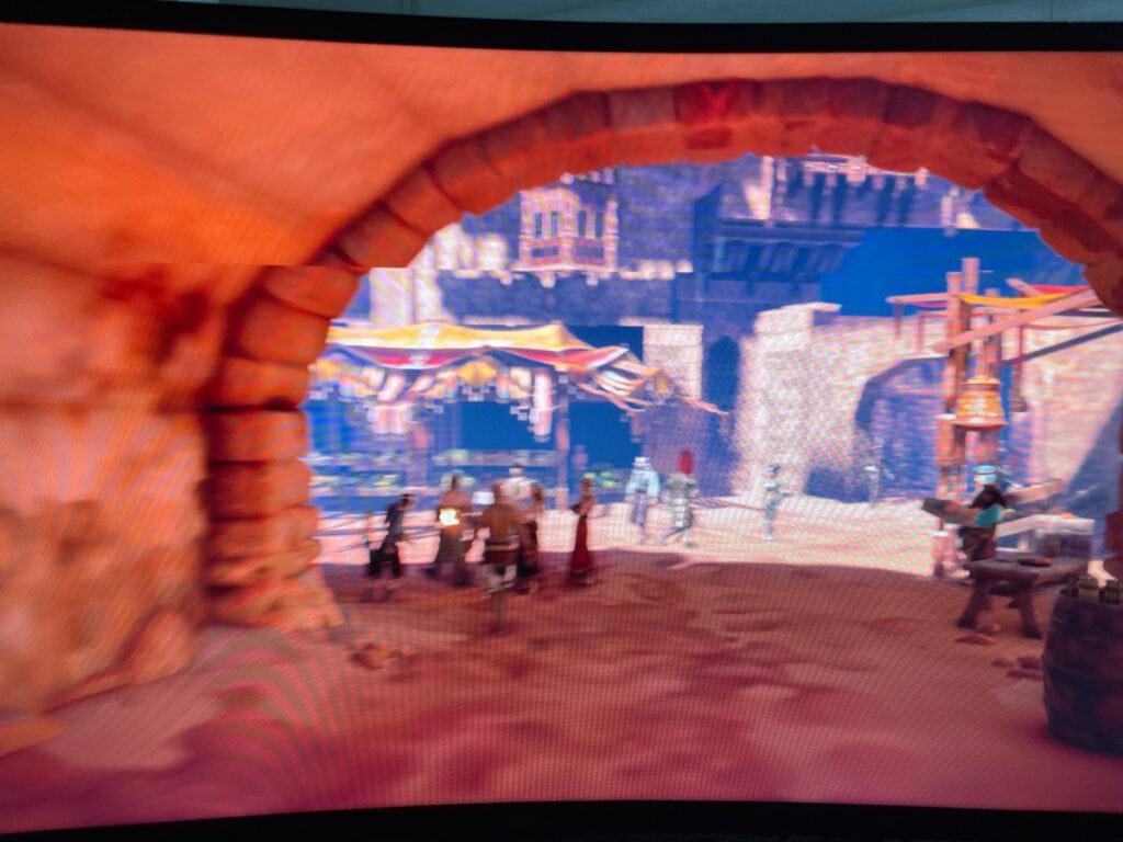 Screenshot Spiel mit Grafikfehler