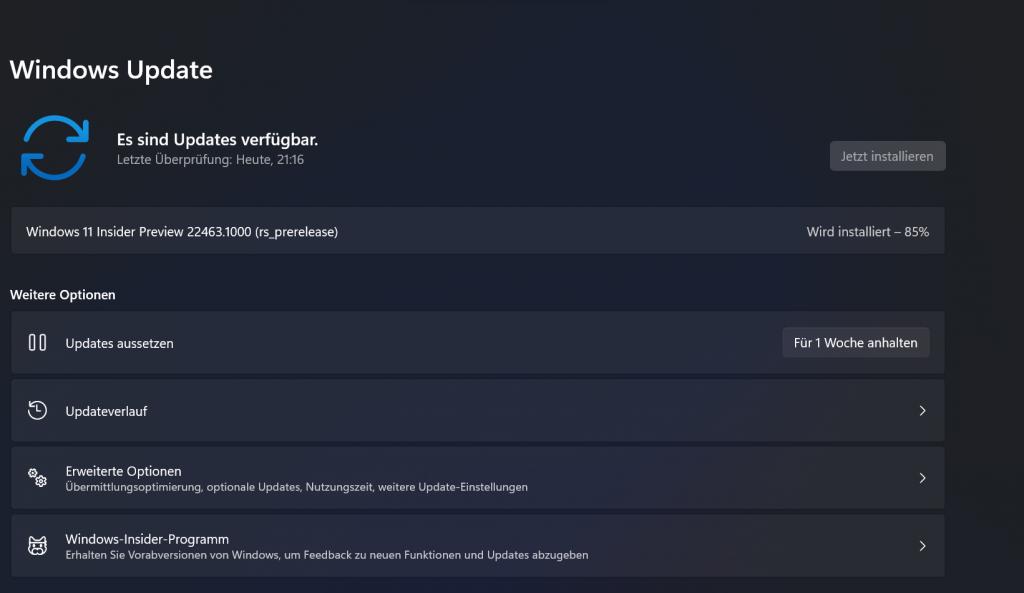 Screenshot Updates