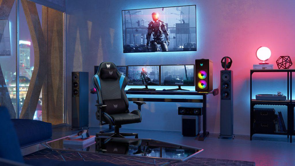 Ein Gaming-Zimmer