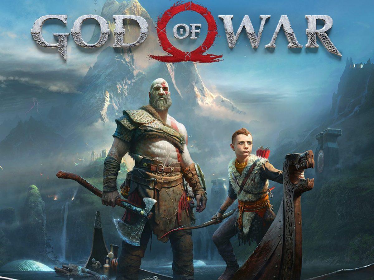 Das Titelbild des Actionspiels God of War