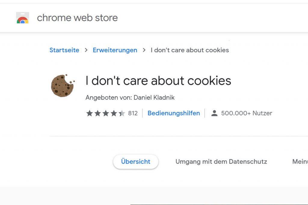 I don't care about cookies  Download