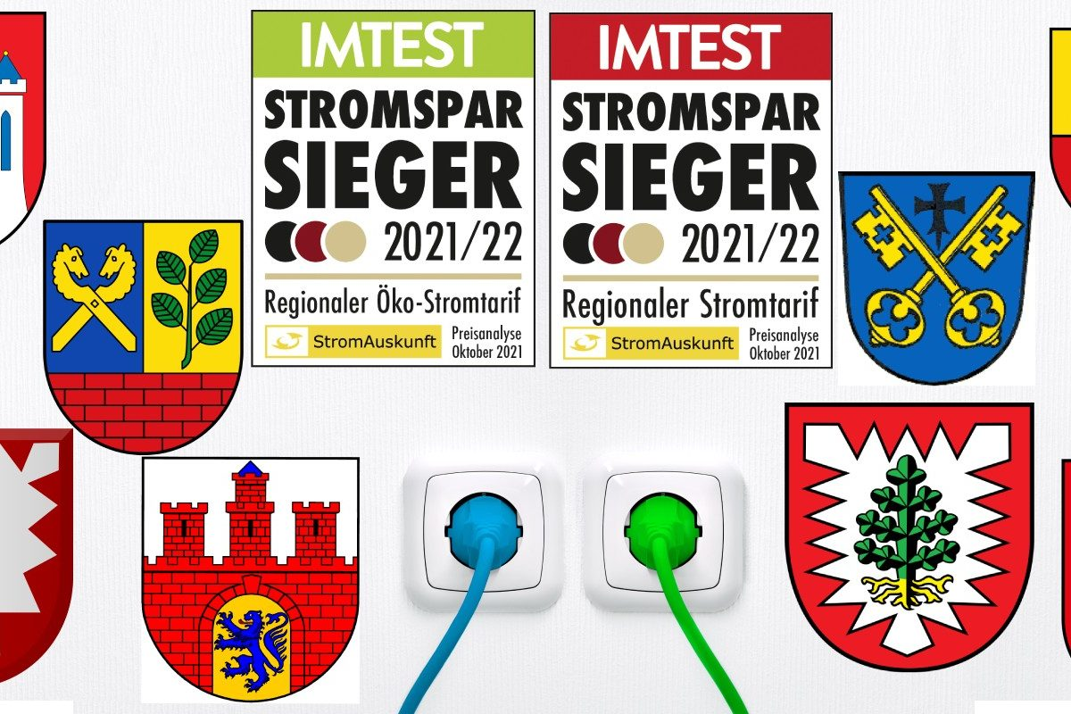 Wappen aus dem Großraum Hamburg und Strompsparsiegel