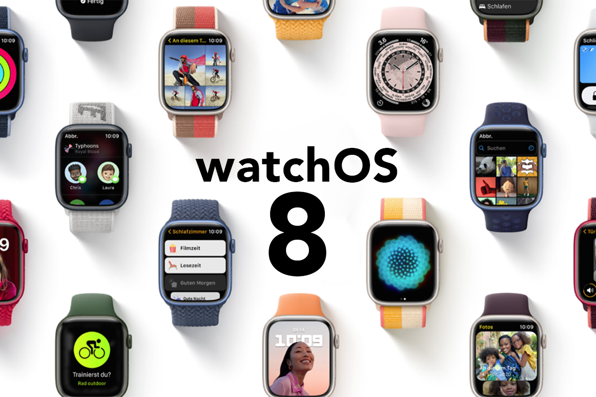 Bunte Apple Watches