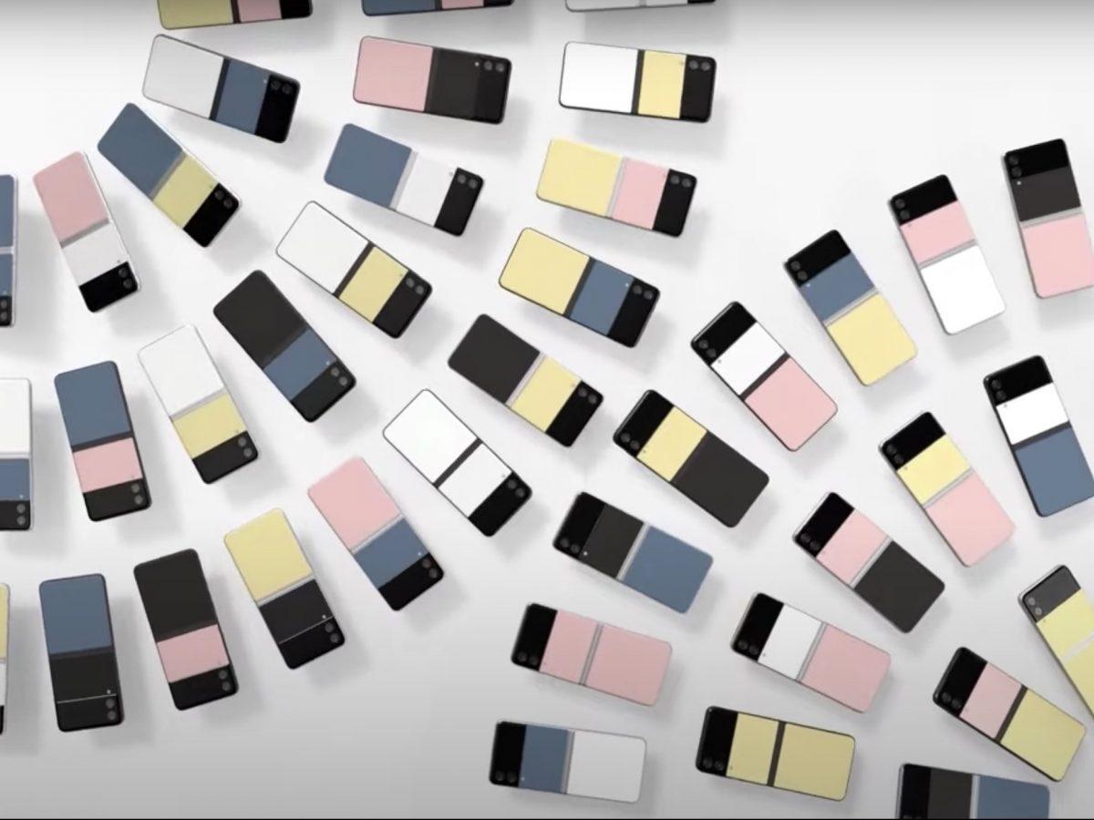 Das Galaxy S3 in verschiedenen Farbvarianten
