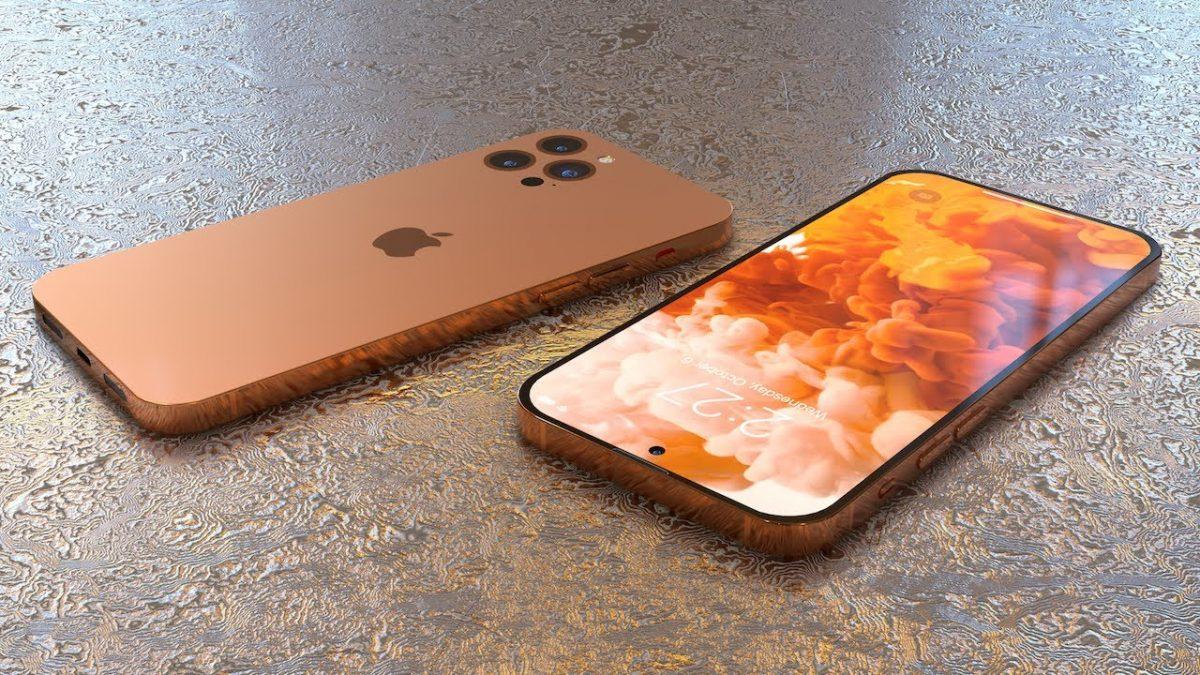 Eine Konzeptgrafik zum iPhone 14