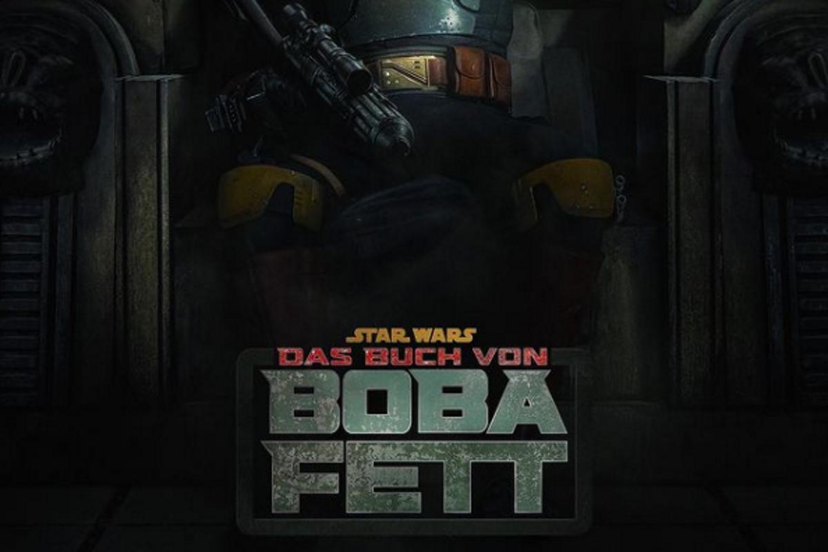 Der deutsche Schriftzug von Das Buch von Boba Fett