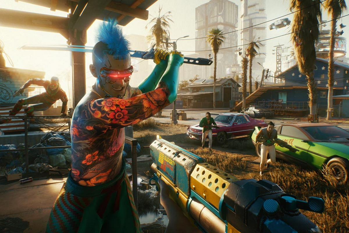Cyberpunk 2077 Update Screen