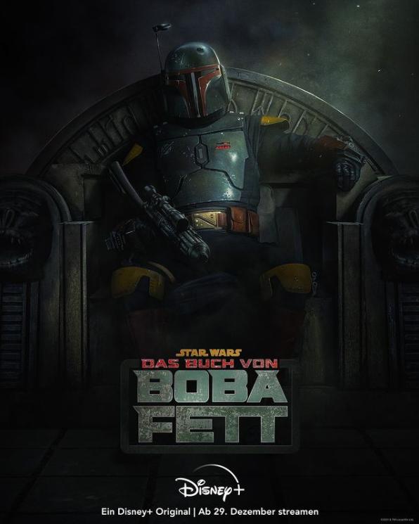 Filmposter zu Das Buch von Boba Fett