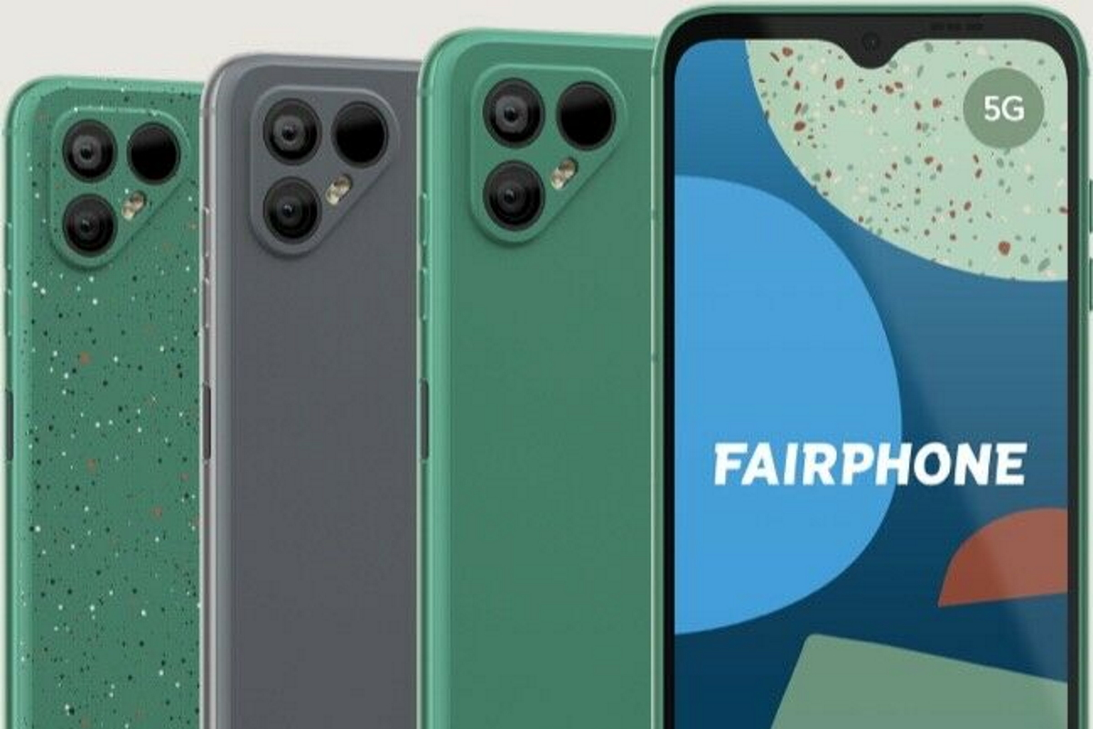 Das Fairphone 4 in allen Varianten.