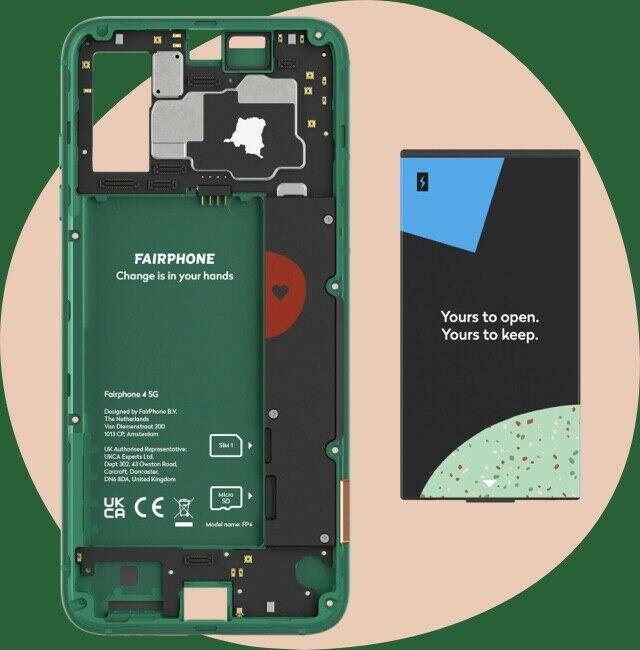 Das Fairphone 4 ist modular aufgebaut.