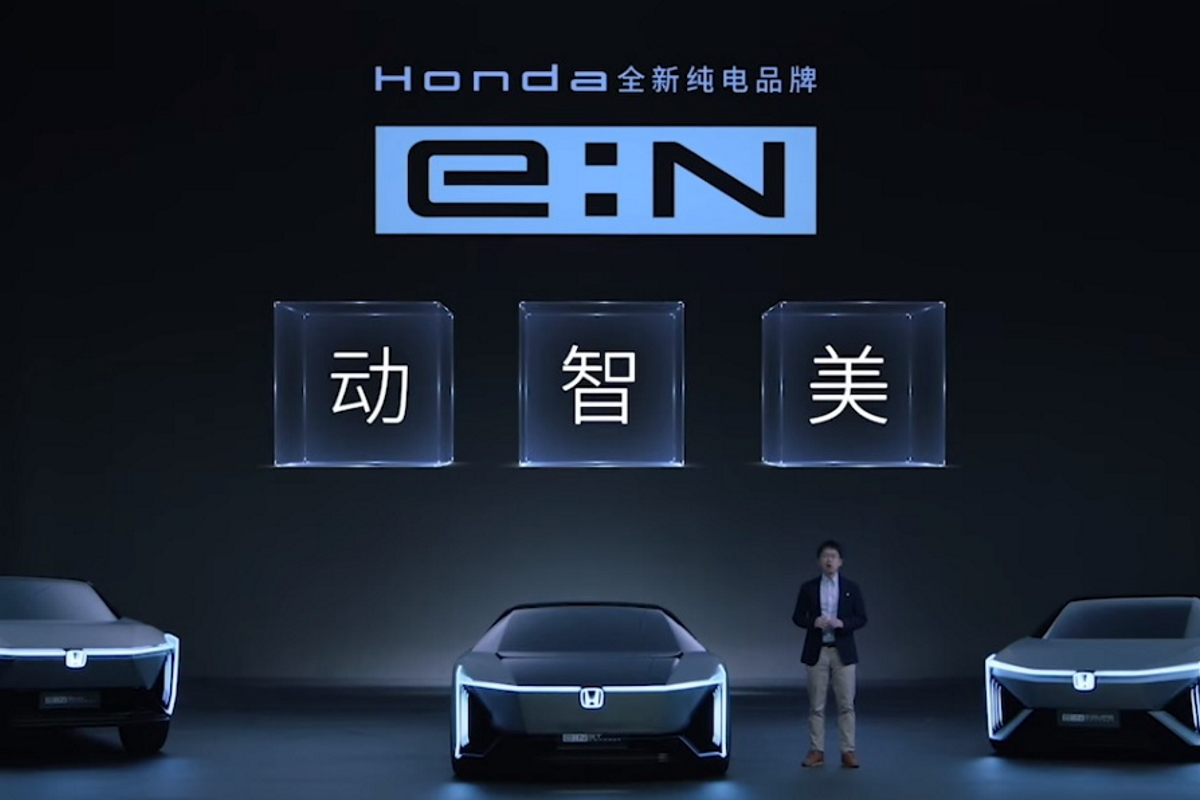 Konzeptstudien von Honda E-Autos