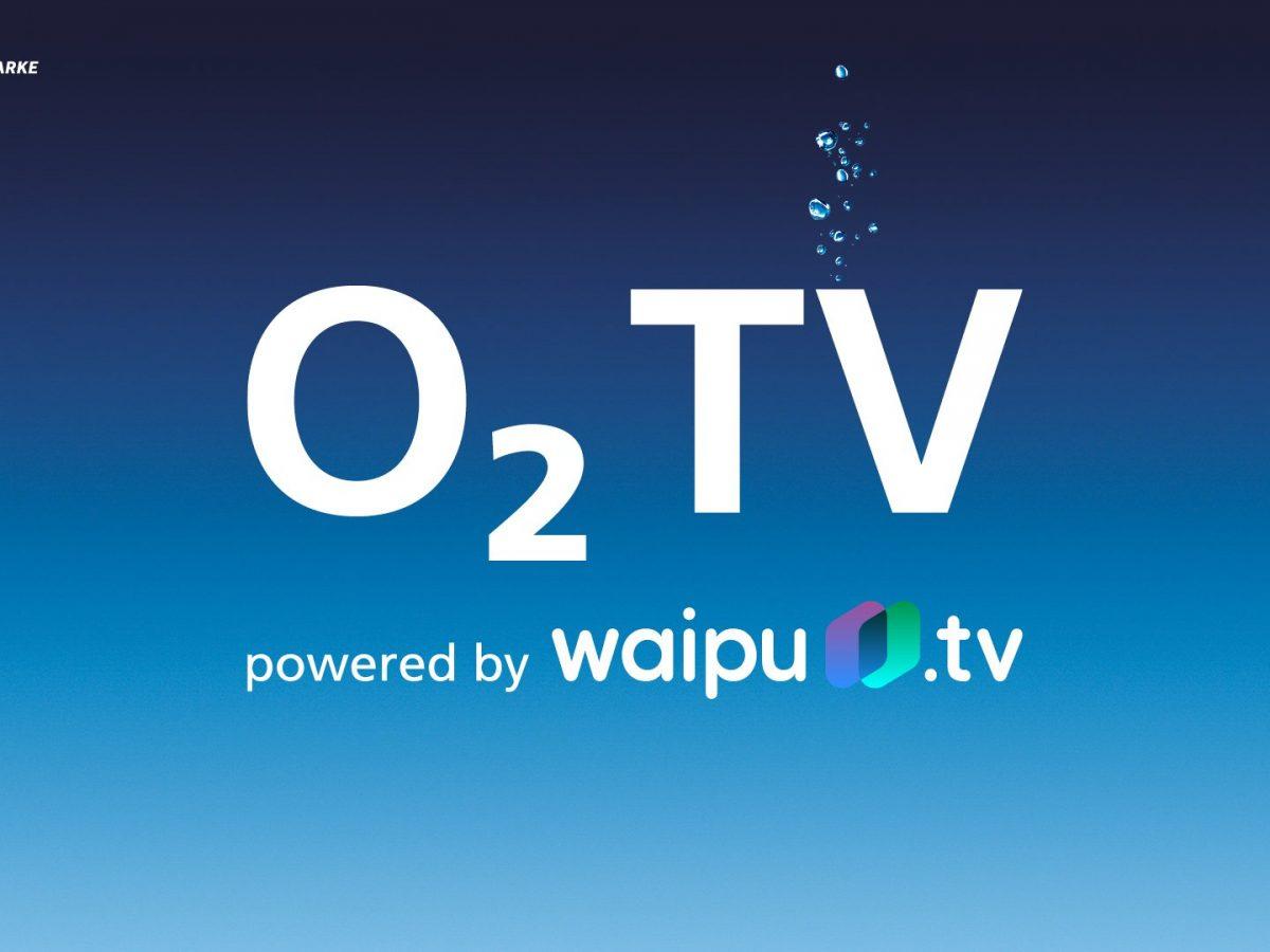 Das Bild zeigt das Logo von O2 TV
