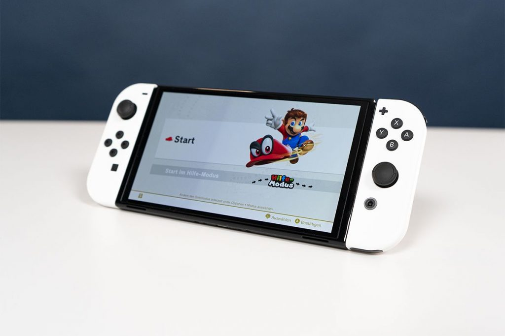 Die Nintendo Switch OLED