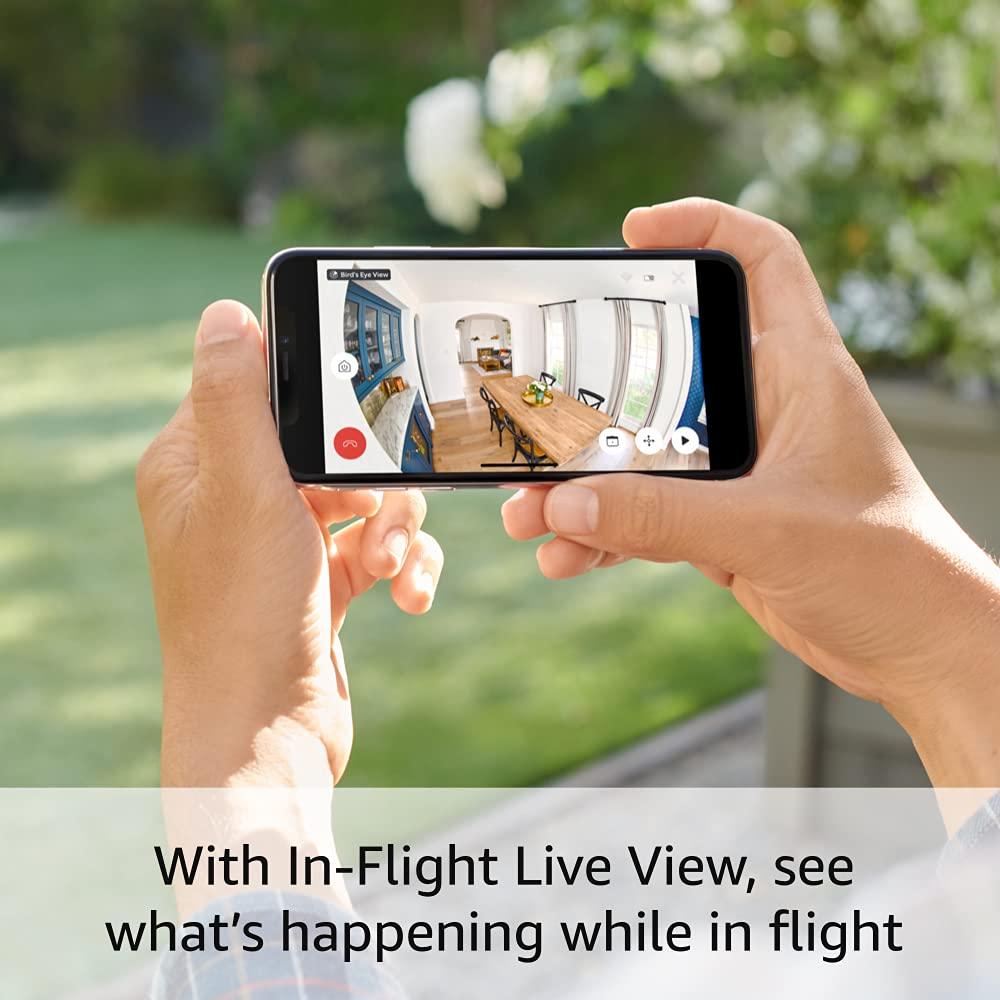 Kamerasaicht der Ring-Kamera auf dem Smartphone