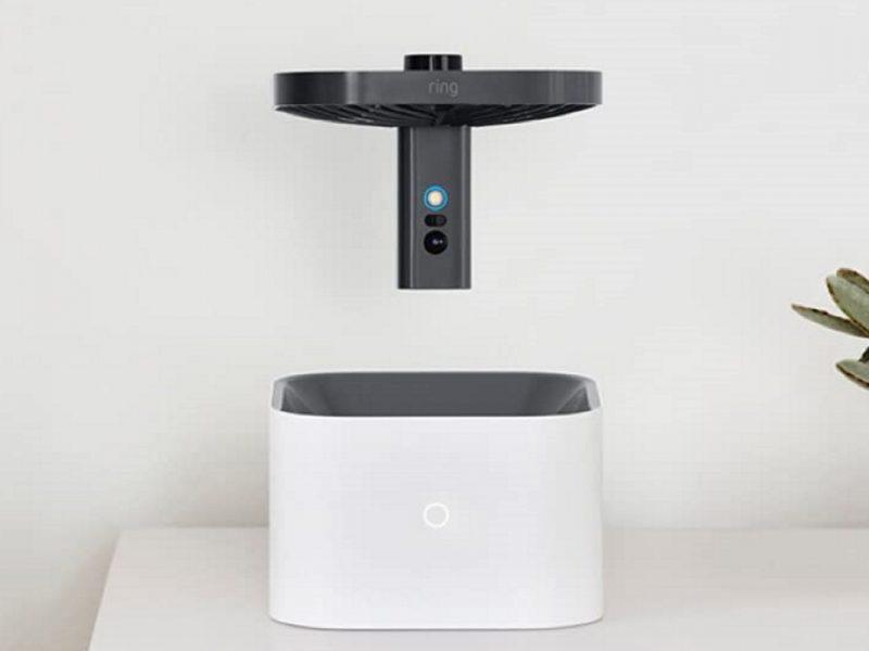 Ring-Kamera mit Docking-Box