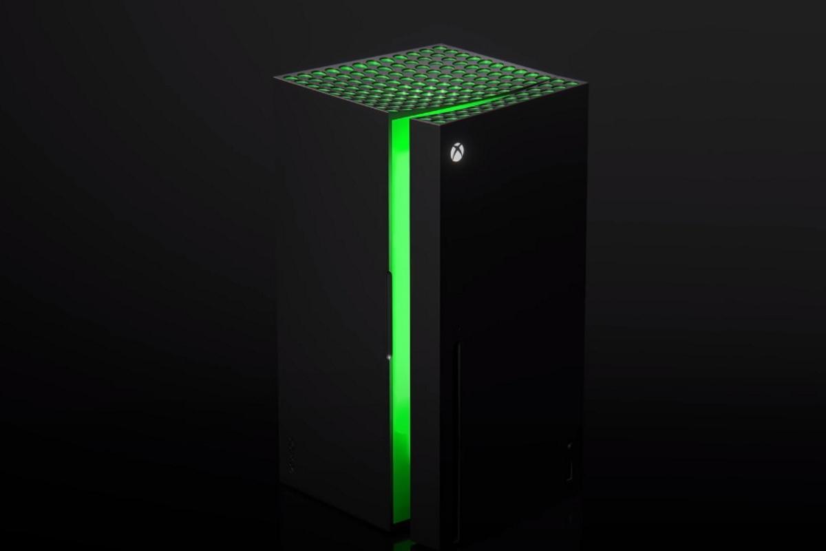 Der Xbox-Kühlschrank öffnet sich